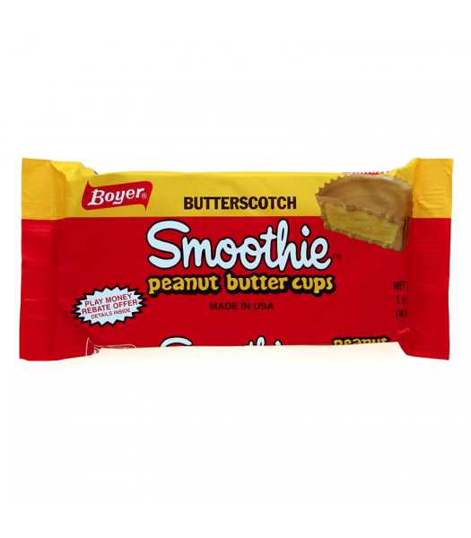 Boyer Butterscotch Smoothie Peanut Butter Cups 1.6oz (45.3g)