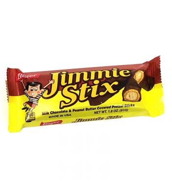 Boyer Jimmie Stix 1.8oz (51g) Chocolate, Bars & Treats