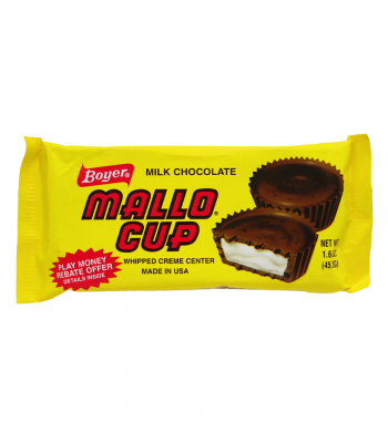 Boyer Milk Chocolate Mallo Cup 1.5oz (42g) Chocolate, Bars & Treats