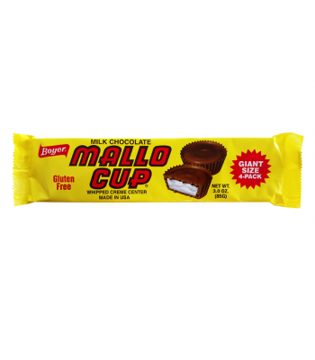 Boyer Milk Chocolate Mallo Cup King Size 3oz (85g) Chocolate, Bars & Treats