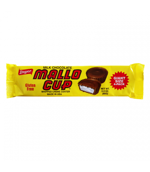 Boyer Milk Chocolate Mallo Cup King Size 3oz (85g)
