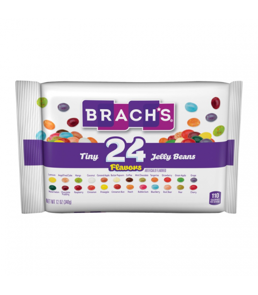 Brach's Tiny 24-Flavor Jelly Beans - 12oz (340g) Sweets and Candy Brach's