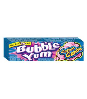 Bubble Yum Cotton Candy Bubblegum 5 piece 1.4oz (39.6g) Bubble Gum Bubble Yum
