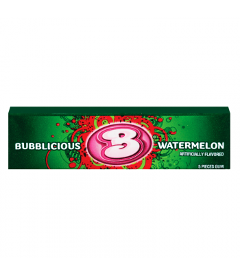 Bubblicious Watermelon 1.4oz (40g) Bubble Gum Bubblicious