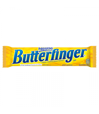 Butterfinger Bar 1.9oz (53.8g) Chocolate, Bars & Treats Butterfinger