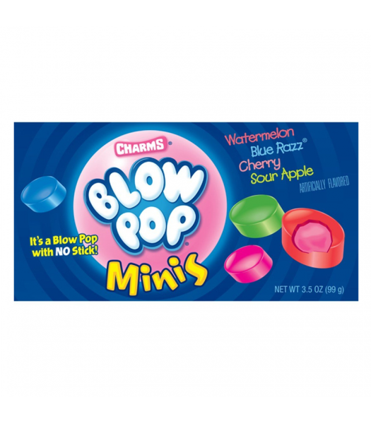 Charms Blow Pop Minis - 3oz (85g) [Christmas] Sweets and Candy Charms