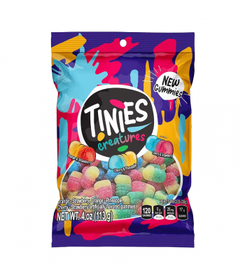 Colombina Tinies Creatures - 4oz (113g) Sweets and Candy