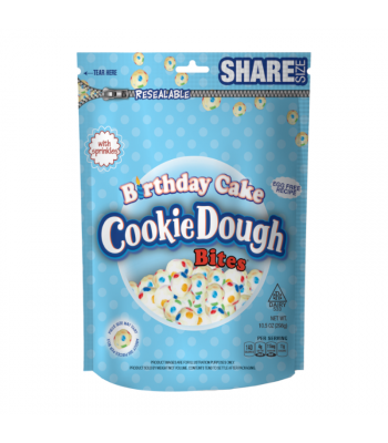 Birthday Cake Cookie Dough Bites - 10.5oz (298g) Sweets and Candy Cookie Dough Bites