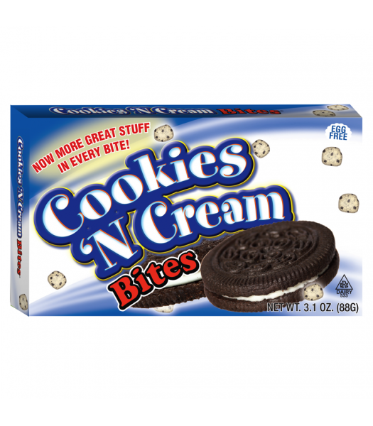Cookies N Cream Bites 3.1oz (88g) Theatre Box