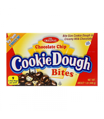Ginormous Chocolate Chip Cookie Dough Bites - 1lb (446g)