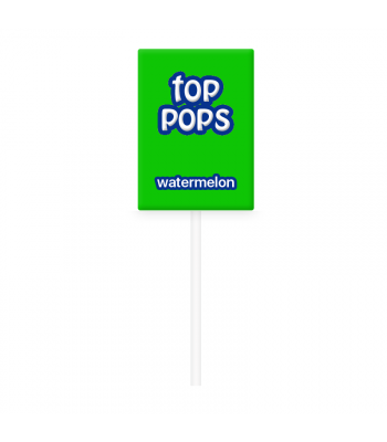 Dorval Top Pops Chewy Candy Lollipop - Watermelon Lollipops