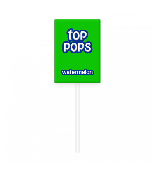 Dorval Top Pops Chewy Candy Lollipop - Watermelon