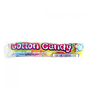 Dubble Bubble Cotton Candy Bubble Gum Balls (4-Pack) 0.64oz (18g) Bubble Gum Dubble Bubble