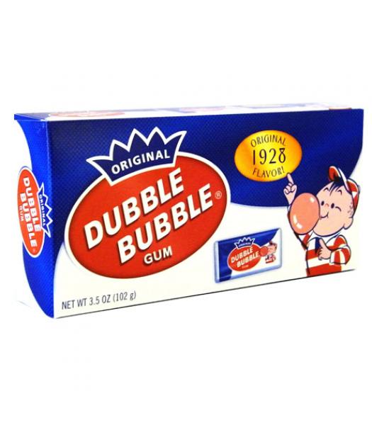 Dubble Bubble - Nostalgic Theatre Box - 3.5oz (99g) Bubble Gum Dubble Bubble