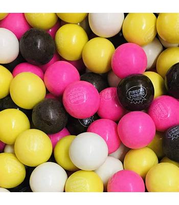 Dubble Bubble Gum Balls Pouch - Banana Split - 200g Sweets and Candy Dubble Bubble
