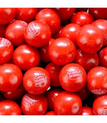 Dubble Bubble Gum Balls Pouch - Hot Cinnamon - 200g Sweets and Candy Dubble Bubble