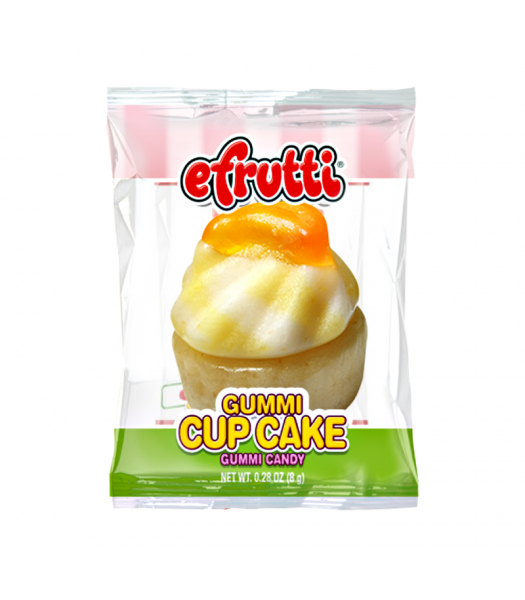 E.Frutti Gummi Cup Cake 0.28oz (8g) Sweets and Candy E.Frutti