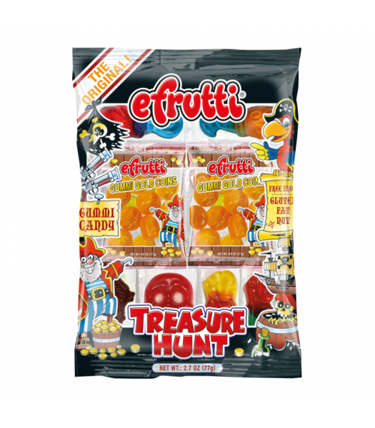 E.Frutti Gummi Treasure Hunt Tray - 2.7oz (77g) Sweets and Candy E.Frutti