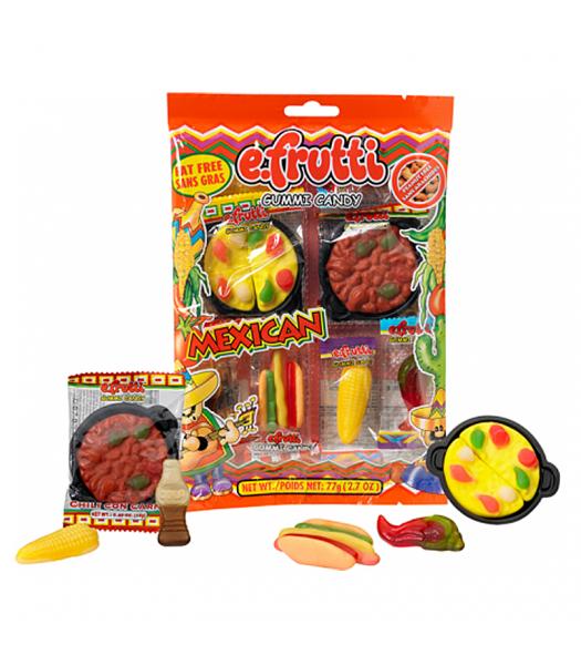 E.Frutti Mexican Dinner Peg Bag - 2.7oz (77g) Sweets and Candy E.Frutti