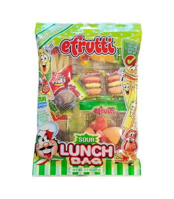 E.Frutti Sour Lunch Bag - 2.7oz (77g) Sweets and Candy E.Frutti