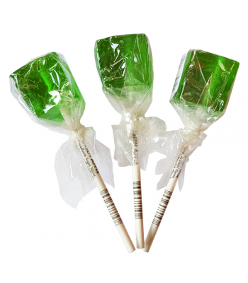 Espeez - Green Apple Cube Lollipop SINGLE 0.74oz (21g) Lollipops