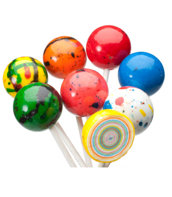 Espeez - Giant Jawbreaker Paintball Pop - 2.3oz (64g) Lollipops