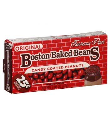 Ferrara Pan PeanutHead Boston Baked Beans 0.75oz (21g) Sweets and Candy Ferrara