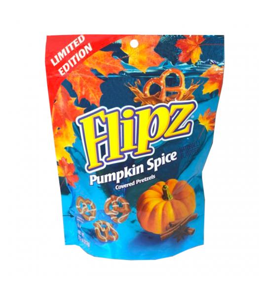 Flipz Halloween Pumpkin Spice Pretzels - 7.5oz (212g) Sweets and Candy
