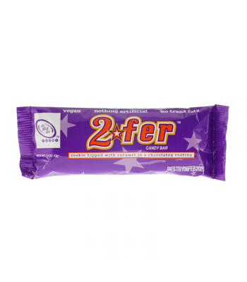 Go Max Go 2fer™ Vegan Candy Bar - 1.5oz (43g) Vegan Go Max Go