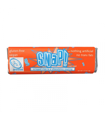 Go Max Go SNAP!™ Vegan Candy Bar - 1.75oz (50g) Gluten Free Go Max Go