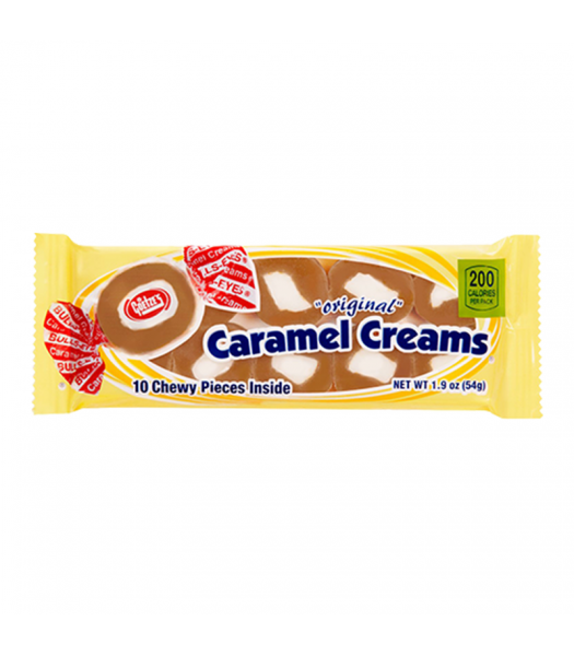 Goetze's Original Caramel Creams 1.9oz (54g) Sweets and Candy Goetze's