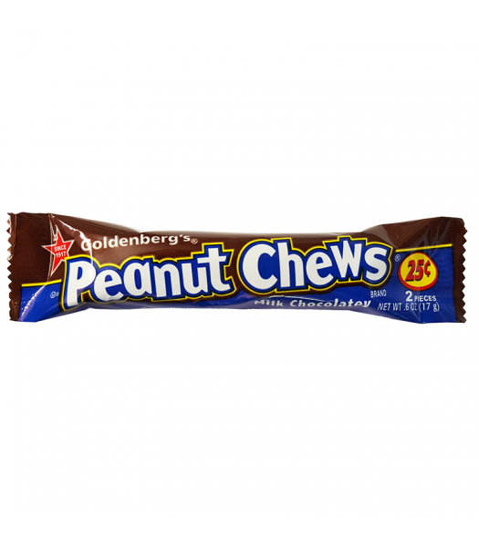 Goldenberg's Peanut Chews Milk Chocolatey 0.6oz (17g)