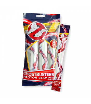 Ghostbusters Strawberry Mallow Strips 80g Sweets and Candy