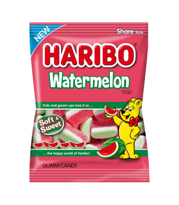 Haribo Watermelon Peg Bag 4.1oz (116g) Sweets and Candy Haribo