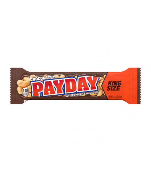 Hershey's Chocolatey PAYDAY Bar King Size - 3.1oz (87g) Sweets and Candy Hershey's