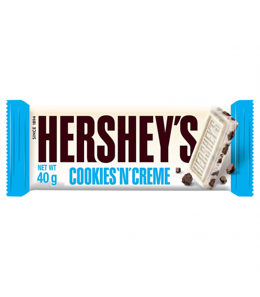 Hershey's Cookies 'N' Creme Bar - 40g  Sweets and Candy Hershey's