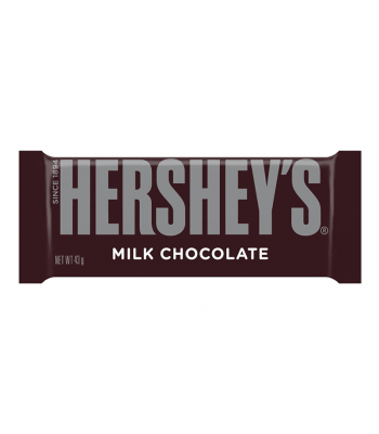 Hershey's Milk Chocolate Bar (43g) [U.S. Packaging] Chocolate, Bars & Treats Hershey's