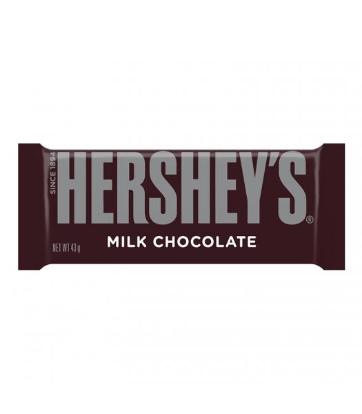 Hershey's Milk Chocolate Bar (43g) [U.S. Packaging] Chocolate, Bars & Treats Hershey's