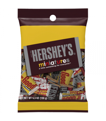 Hershey's Miniatures Assortment 5.3oz (150g) Sweets and Candy Hershey's
