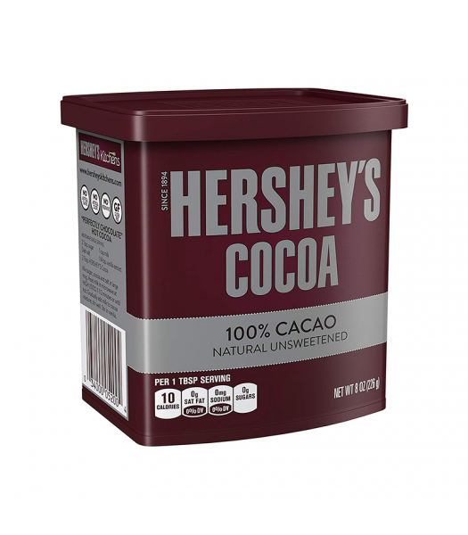 Hershey's Unsweetened Cocoa - 8oz (226g) Food and Groceries Hershey's