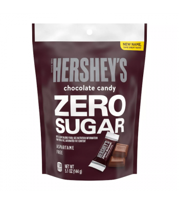 Hershey's Zero Sugar Milk Chocolate Pouch - 5.1oz (144g) Sweets and Candy Hershey's