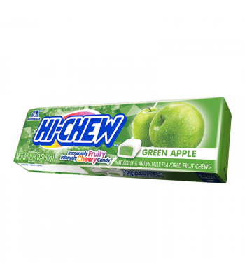 Hi-Chew Fruit Chews Green Apple - 1.76oz (50g) Sweets and Candy HI-CHEW