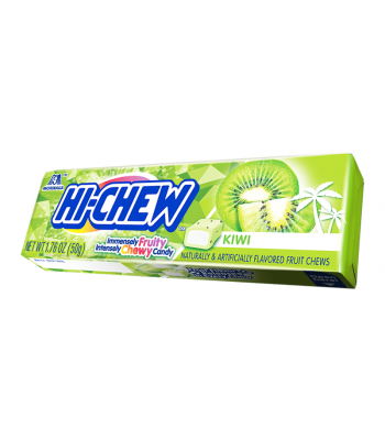 Hi-Chew Fruit Chews Kiwi - 1.76oz (50g)  Sweets and Candy HI-CHEW