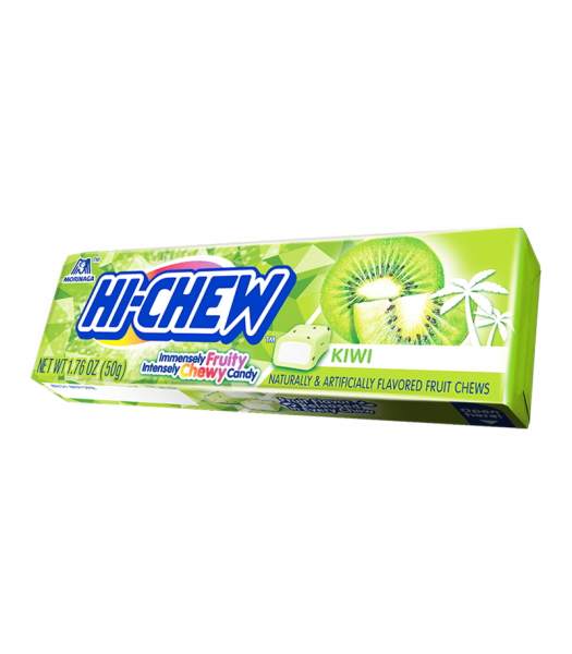 Hi-Chew Fruit Chews Kiwi 1.76oz (50g) Soft Candy Hi-Chew