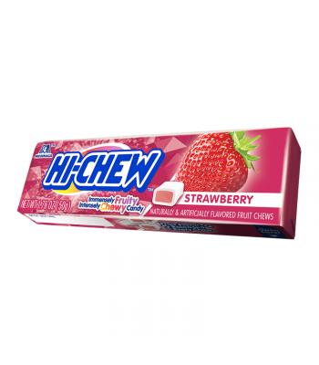 Hi-Chew Fruit Chews Strawberry 1.75oz (50g) Soft Candy Hi-Chew