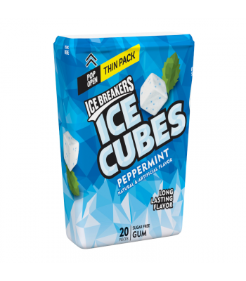 Ice Breakers Ice Cubes Peppermint Gum Thin Pack - 1.62oz (46g)	 Sweets and Candy Ice Breakers