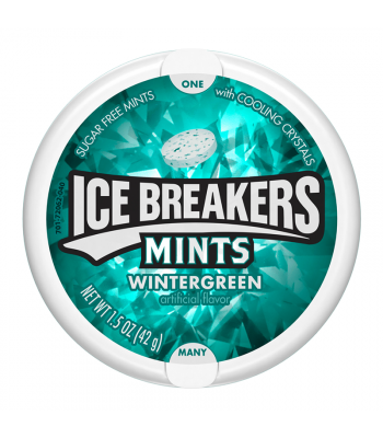 Ice Breakers Mints Wintergreen - 1.5oz (42g) Sweets and Candy Ice Breakers