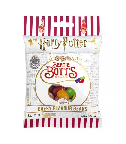 Harry Potter - Bertie Bott's Every Flavour Jelly Beans Peg Bag (54g) Jelly Beans Harry Potter