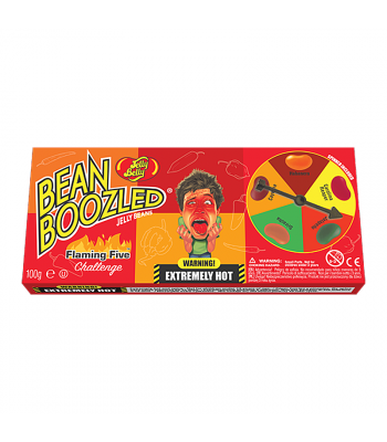 Jelly Belly Beanboozled Flaming Five Spinner Box (100g) Sweets and Candy Jelly Belly