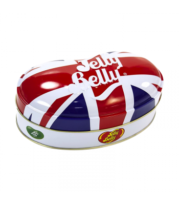 Clearance Special - Jelly Belly Union Jack Tin Assorted Jelly Beans (200g) **Best Before: April 21** Clearance Zone